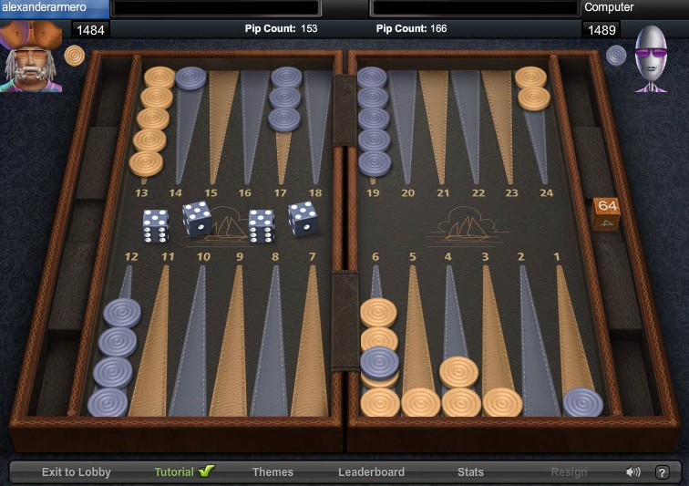 backgammon-game-of-the-day