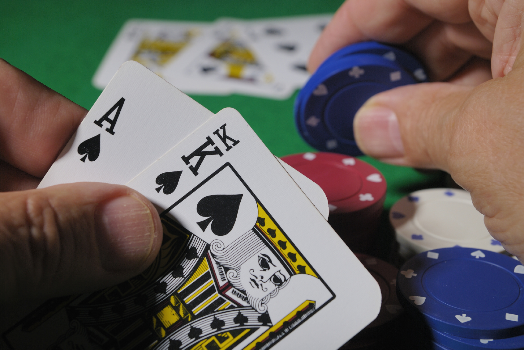 Poker dentro do cassino
